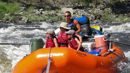 Rafting Reservation